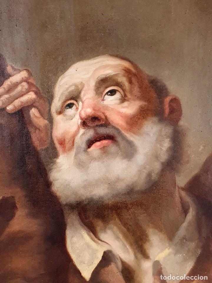 Arte: Magnifica coleccion de oleos sobre lienzo de los 12 Apostoles - Foto 8 - 187447375