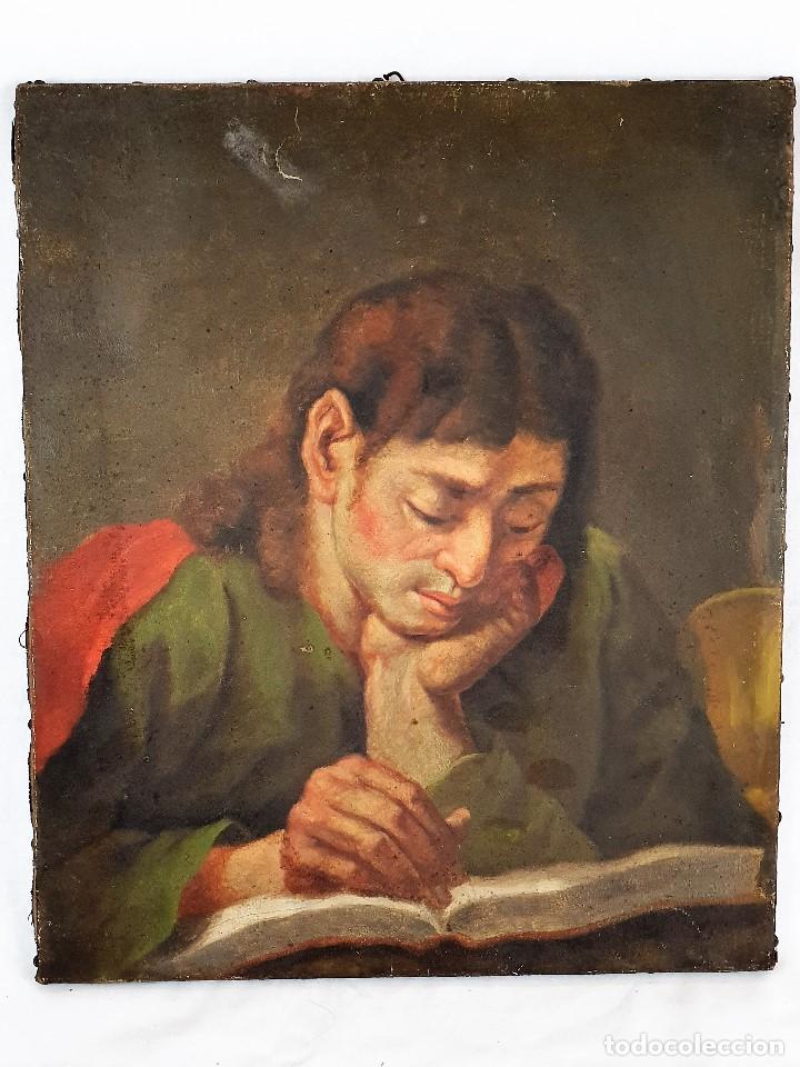 Arte: Magnifica coleccion de oleos sobre lienzo de los 12 Apostoles - Foto 10 - 187447375