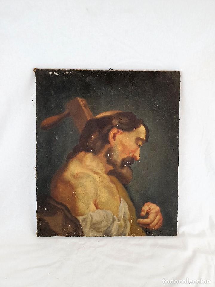 Arte: Magnifica coleccion de oleos sobre lienzo de los 12 Apostoles - Foto 11 - 187447375