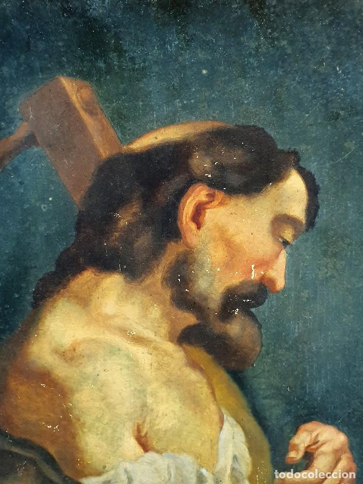 Arte: Magnifica coleccion de oleos sobre lienzo de los 12 Apostoles - Foto 12 - 187447375