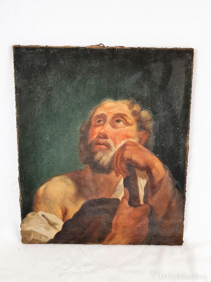Arte: Magnifica coleccion de oleos sobre lienzo de los 12 Apostoles - Foto 13 - 187447375
