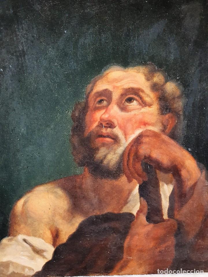 Arte: Magnifica coleccion de oleos sobre lienzo de los 12 Apostoles - Foto 14 - 187447375