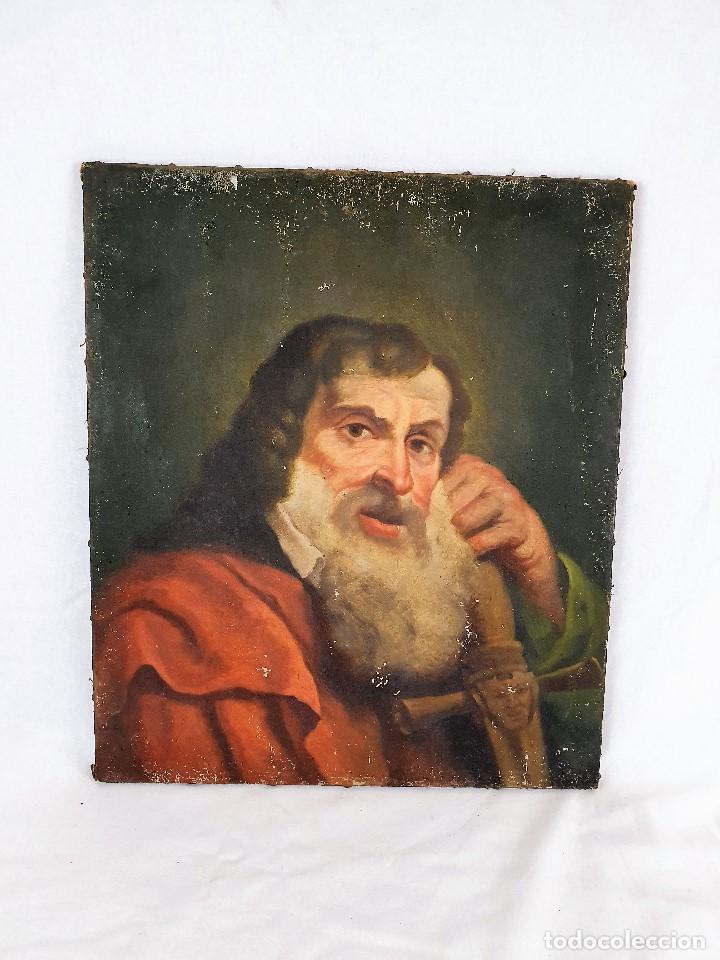 Arte: Magnifica coleccion de oleos sobre lienzo de los 12 Apostoles - Foto 15 - 187447375
