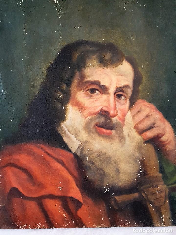 Arte: Magnifica coleccion de oleos sobre lienzo de los 12 Apostoles - Foto 16 - 187447375