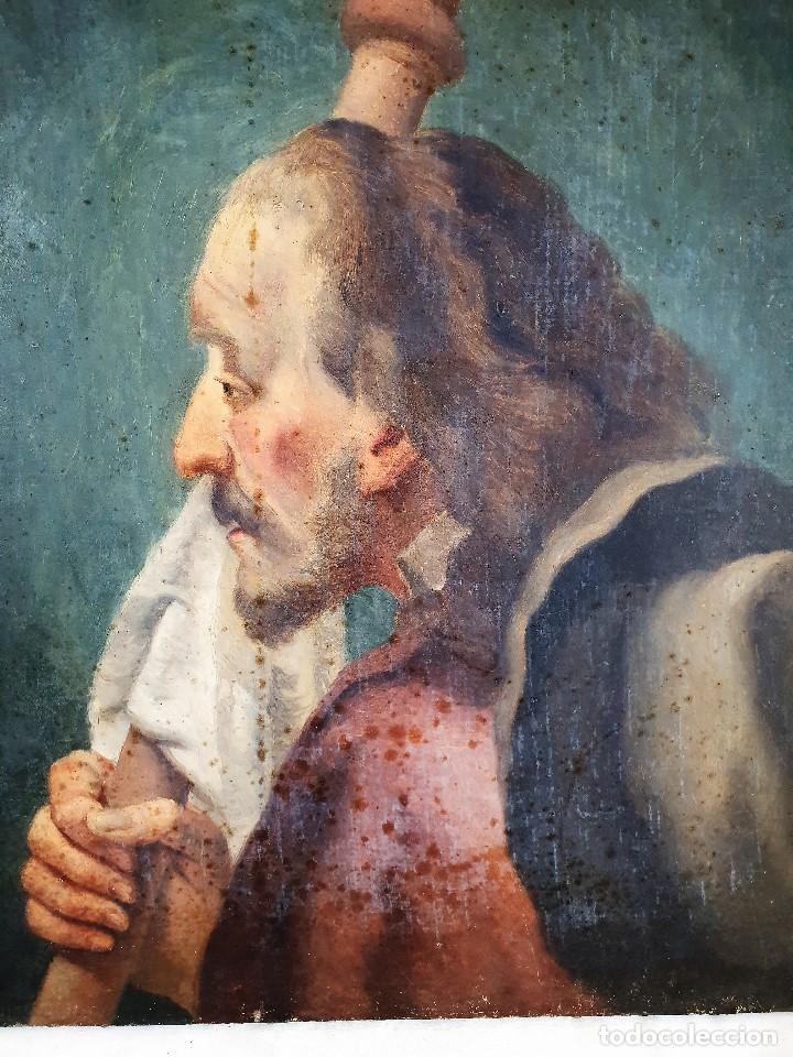 Arte: Magnifica coleccion de oleos sobre lienzo de los 12 Apostoles - Foto 18 - 187447375
