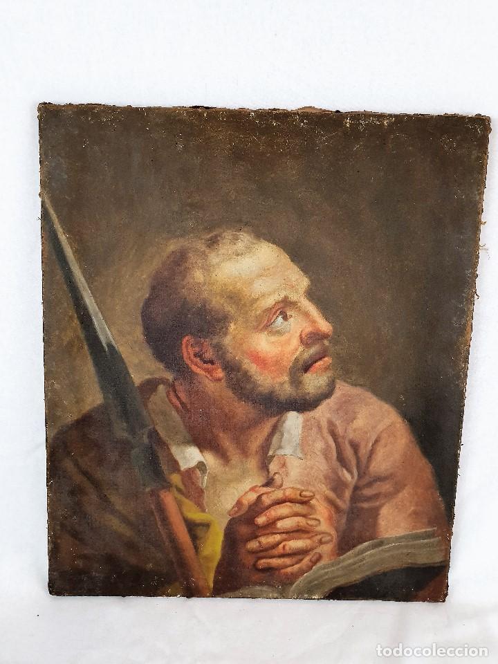 Arte: Magnifica coleccion de oleos sobre lienzo de los 12 Apostoles - Foto 19 - 187447375