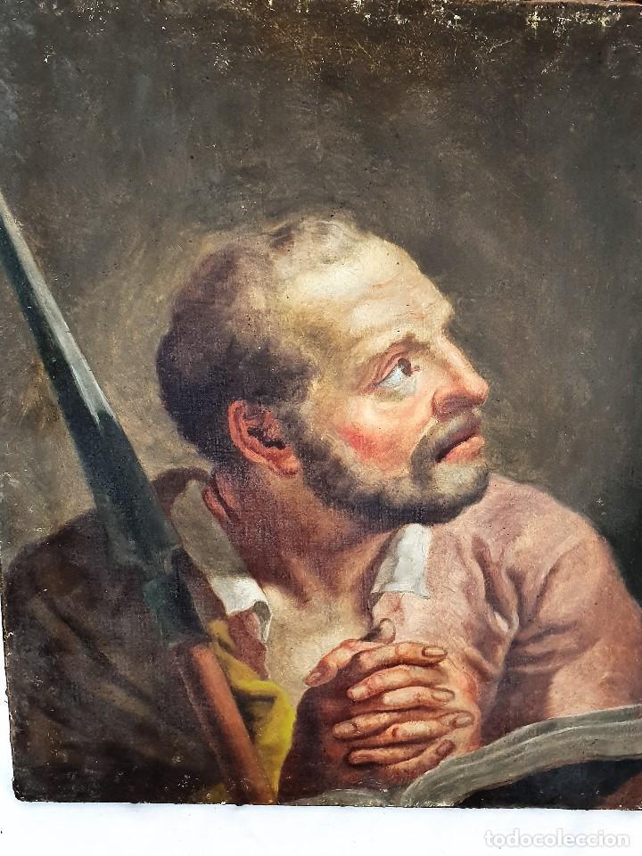 Arte: Magnifica coleccion de oleos sobre lienzo de los 12 Apostoles - Foto 20 - 187447375