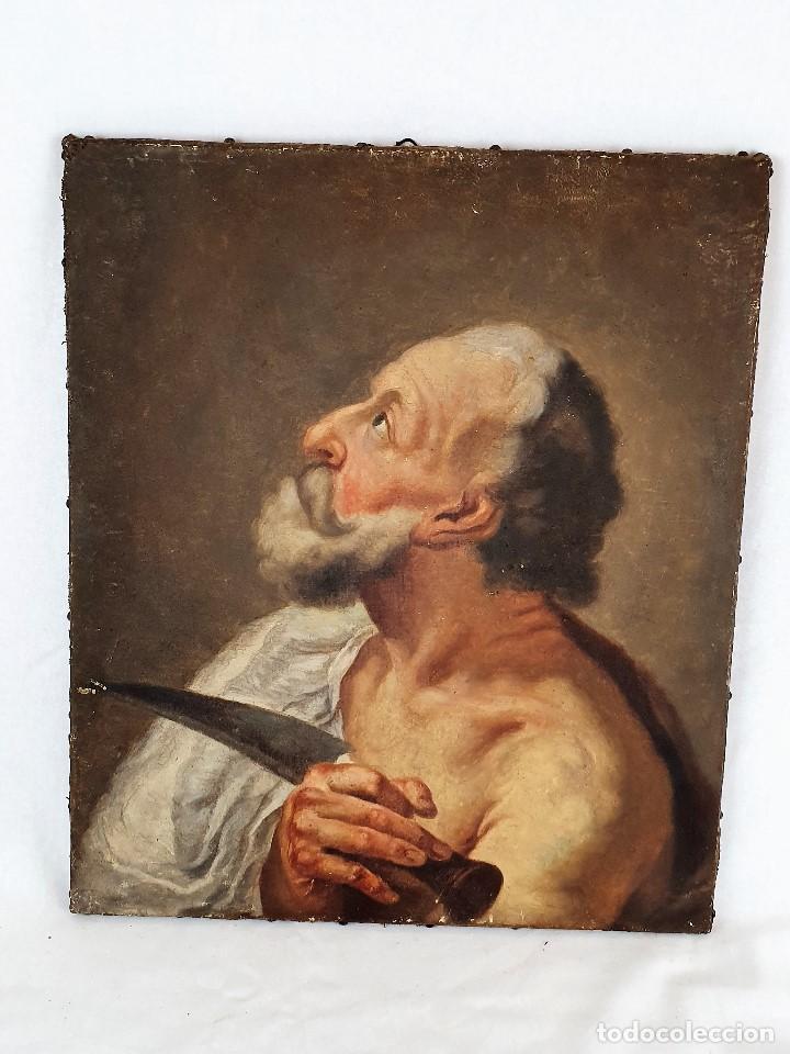 Arte: Magnifica coleccion de oleos sobre lienzo de los 12 Apostoles - Foto 23 - 187447375
