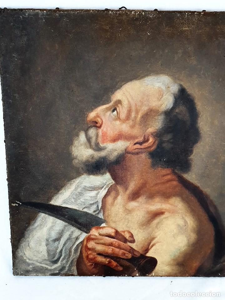 Arte: Magnifica coleccion de oleos sobre lienzo de los 12 Apostoles - Foto 24 - 187447375