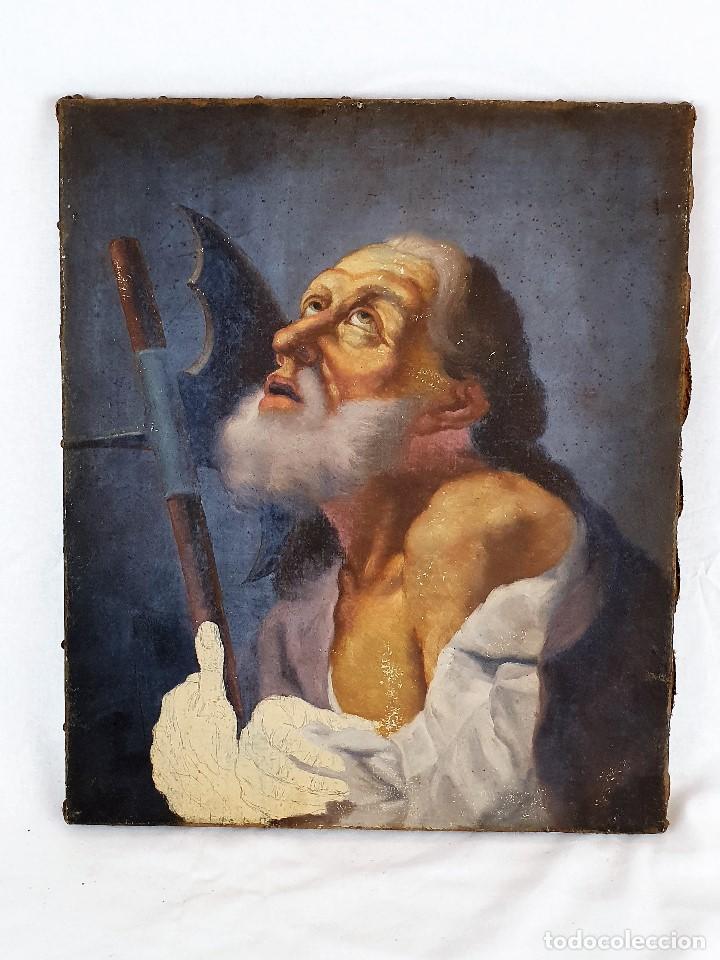 Arte: Magnifica coleccion de oleos sobre lienzo de los 12 Apostoles - Foto 25 - 187447375