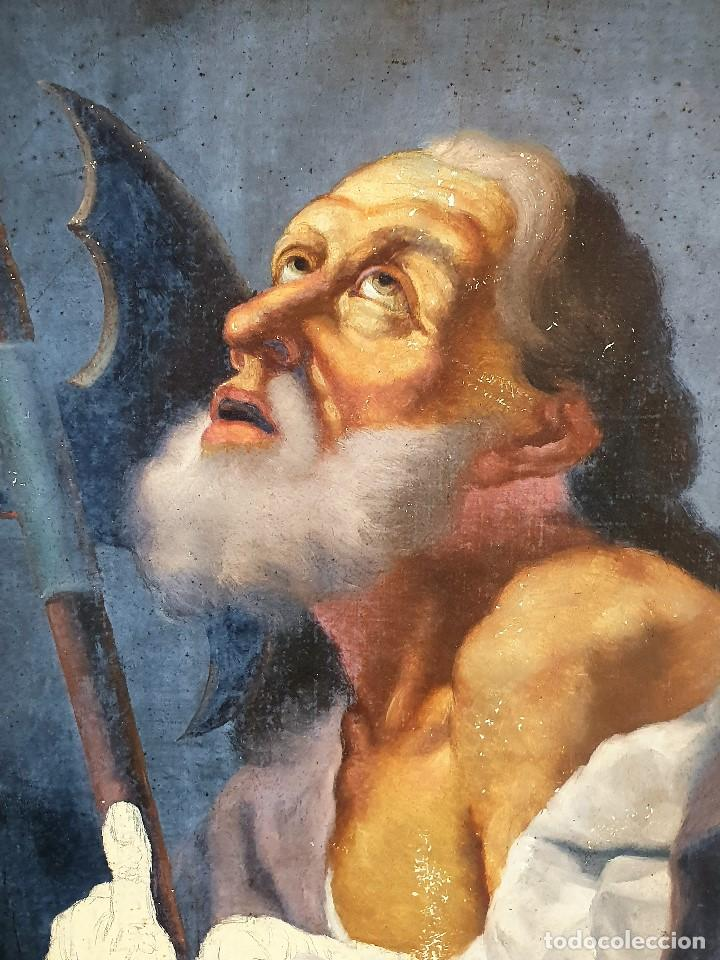 Arte: Magnifica coleccion de oleos sobre lienzo de los 12 Apostoles - Foto 26 - 187447375