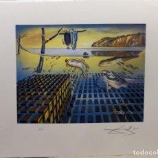 Arte: SALVADOR DALI LITOGRAÍA: LA DESINTEGRACIÓN DE LA PERSISTENCIA. Lote 187455821