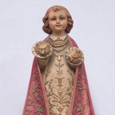 Arte: ANTIGUO NIÑO JESUS DE PRAGA. OLOT. Lote 187459820