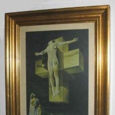 Arte: DALI CRICIFIXION VINTAGE. Lote 187651198