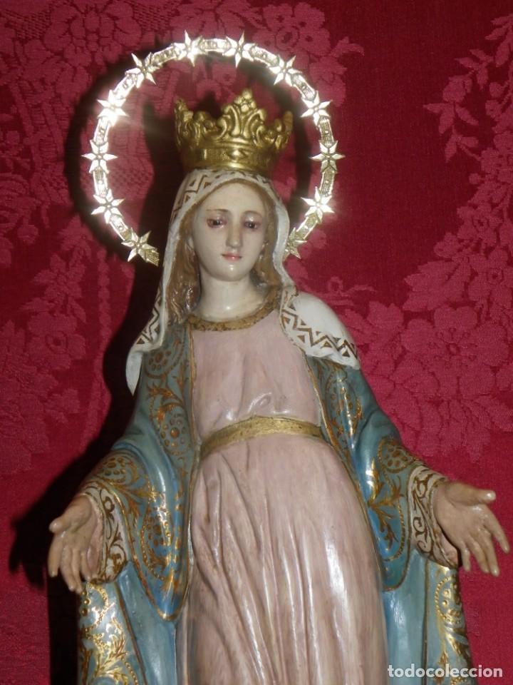 VIRGEN MILAGROSA OLOT SELLADA (Arte - Arte Religioso - Escultura)