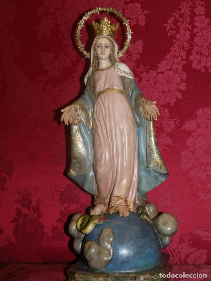 Arte: Virgen Milagrosa Olot sellada - Foto 13 - 188512037