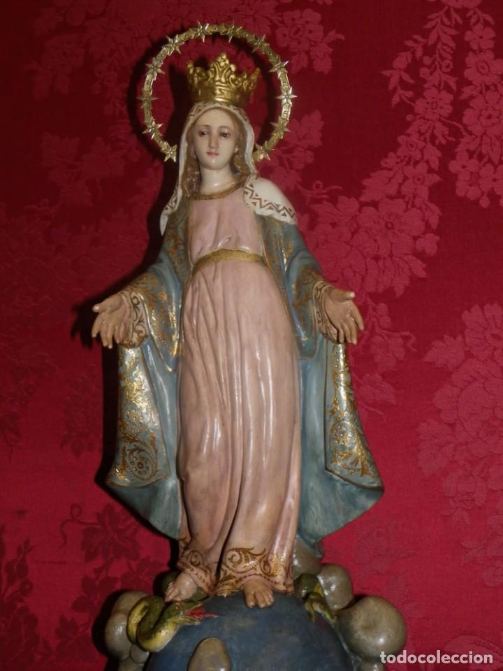 Arte: Virgen Milagrosa Olot sellada - Foto 14 - 188512037