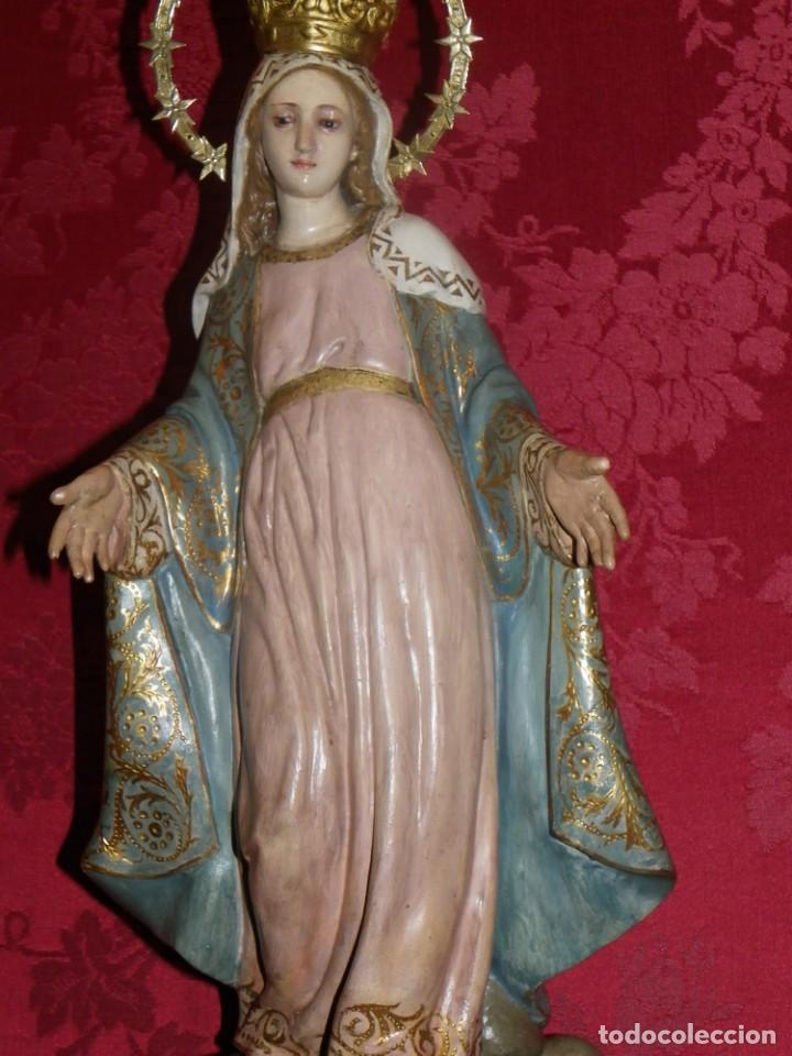 Arte: Virgen Milagrosa Olot sellada - Foto 15 - 188512037