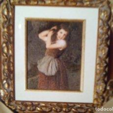 Arte: PRECIOSO LIENZO ENMARCADO EN MARCO DE ESTILO,ESCUELA ESPAÑOLA DEL SIGLO XIX,ANONIMO.. Lote 188559021