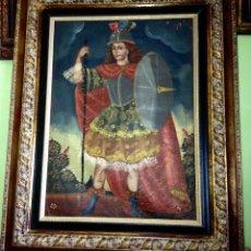 Arte: PINTURA RELIGIOSA ANTIGUA CUZQUEÑA. Lote 188560831