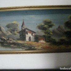 Arte: ANTIGUO CUADRO DE PAISAJE. Lote 188721555