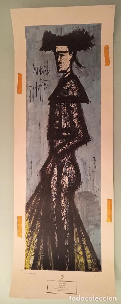 LITOGRAFÍA 'MATADOR' BERNARD BUFFET 58, NUMERADA (Arte - Arte Religioso - Litografías)