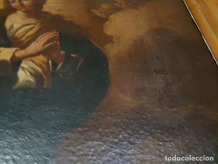 Arte: ÓLEO SOBRE LIENZO INMACULADA CONCEPCIÓN SIGLO XVII - Foto 18 - 188788421