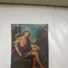 Arte: ÓLEO SOBRE COBRE S.XVIII. Lote 189075207