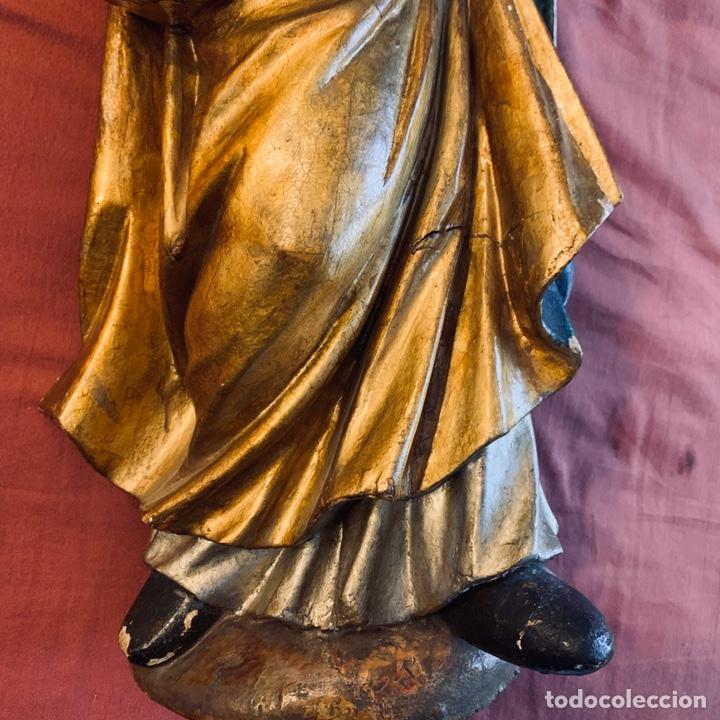 Arte: Talla de obispo san Blas o San Nicolás - Foto 4 - 189087206