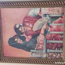 Arte: CUADRO COSTUMBRISTA. Lote 189122392