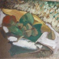 Arte: ORIGINAL. PINTURA EN RETABLO FRUTERO. MEDIDAS 40 X 35. Lote 189340951