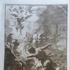 Arte: GRABADO ANTIGUA FRANCESCO POLANZANI (1700-1783). Lote 189341013