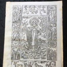 Arte: GRABADO SAN ANTONI ABAD S. XVIII-XIX . Lote 189448397
