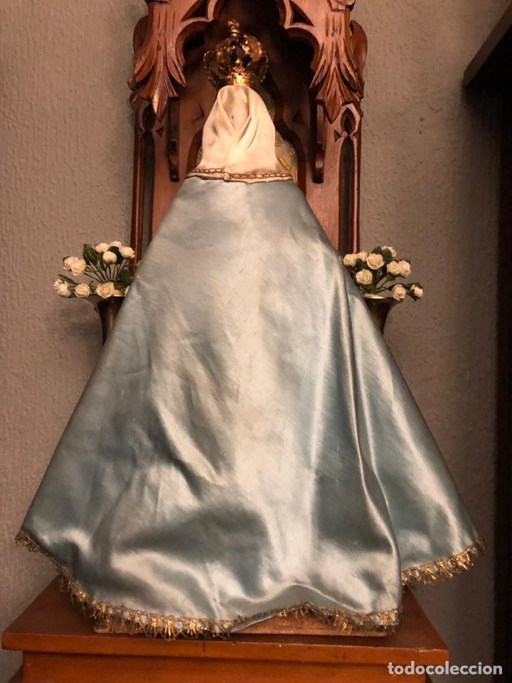 Arte: Imagen de la Virgen de cap y pota. - Foto 6 - 182319911