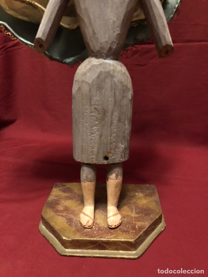 Arte: Imagen de la Virgen de cap y pota. - Foto 8 - 182319911