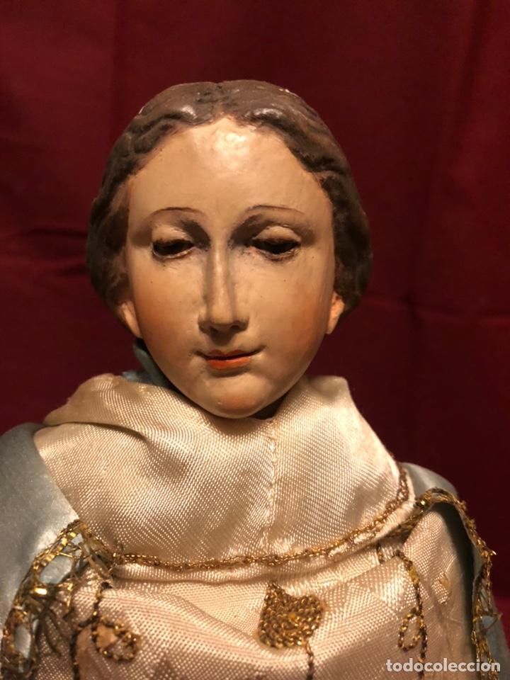 Arte: Imagen de la Virgen de cap y pota. - Foto 9 - 182319911