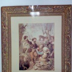 Arte: GRABADOS DE DON QUIJOTE, EDICION FACSIMIL. CARPETA Y 6 GRABADOS.. Lote 189510297