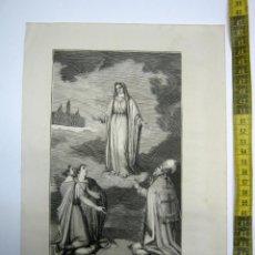 Arte: NUESTRA SEÑORA DE LAS NIEVES 5 DE AGOSTO - ESTAMPA TIPO GRABADO - 29 X 20 CM. Lote 189580782