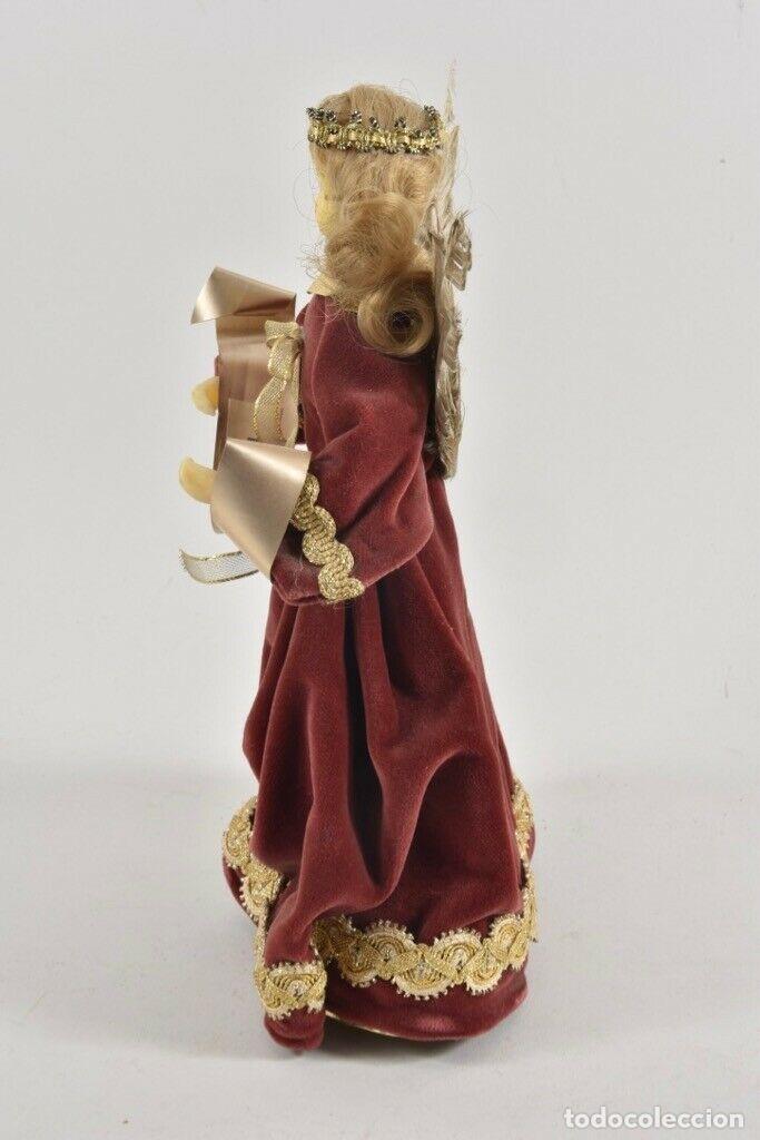 Arte: PRECIOSA FIGURA HADA MADRINA FIESTAS O ANGEL ANUNCIADOR CABEZA EN CERA 28 cm IDEAL PARA FANAL 143,00 - Foto 5 - 189621470
