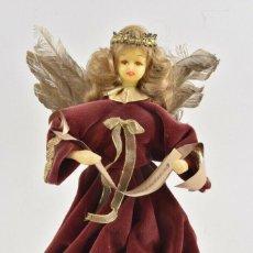 Arte: PRECIOSA FIGURA HADA MADRINA FIESTAS O ANGEL ANUNCIADOR CABEZA EN CERA 28 CM IDEAL PARA FANAL 143,00. Lote 189621470