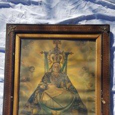 Arte: ANTIGUA LAMINA N S DE LAS ANGUSTIAS PATRONA DE GRANADA. Lote 189676355