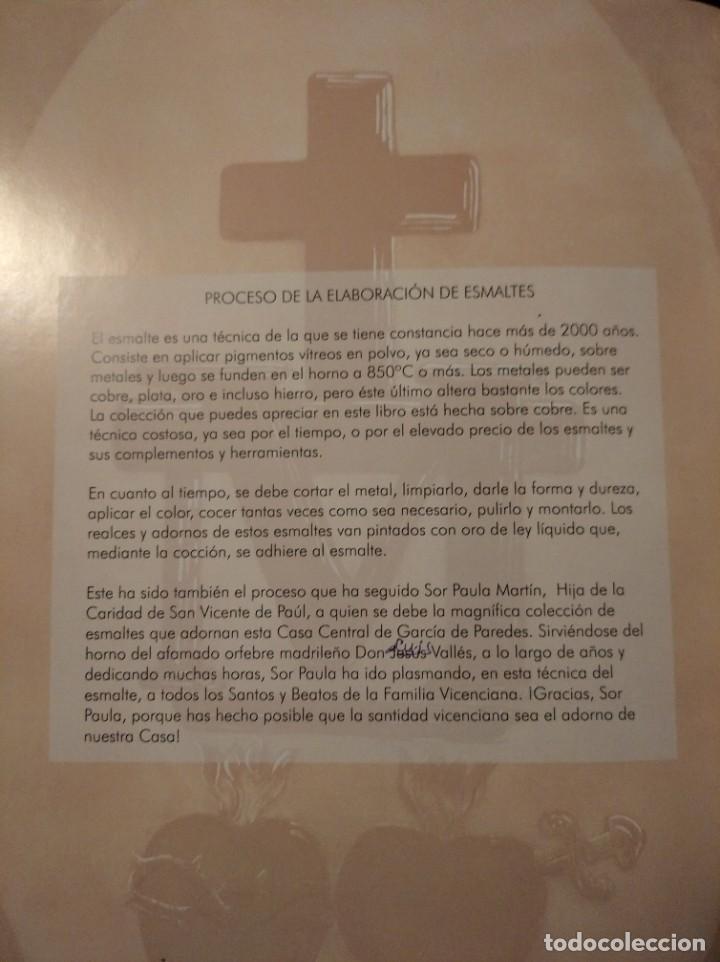 Arte: CRISTO CON LA CRUZ 41*49 - ORO DE LEY LIQUIDO - ESMALTE AL FUEGO - SOR PAULA MARTIN - Foto 6 - 189714848