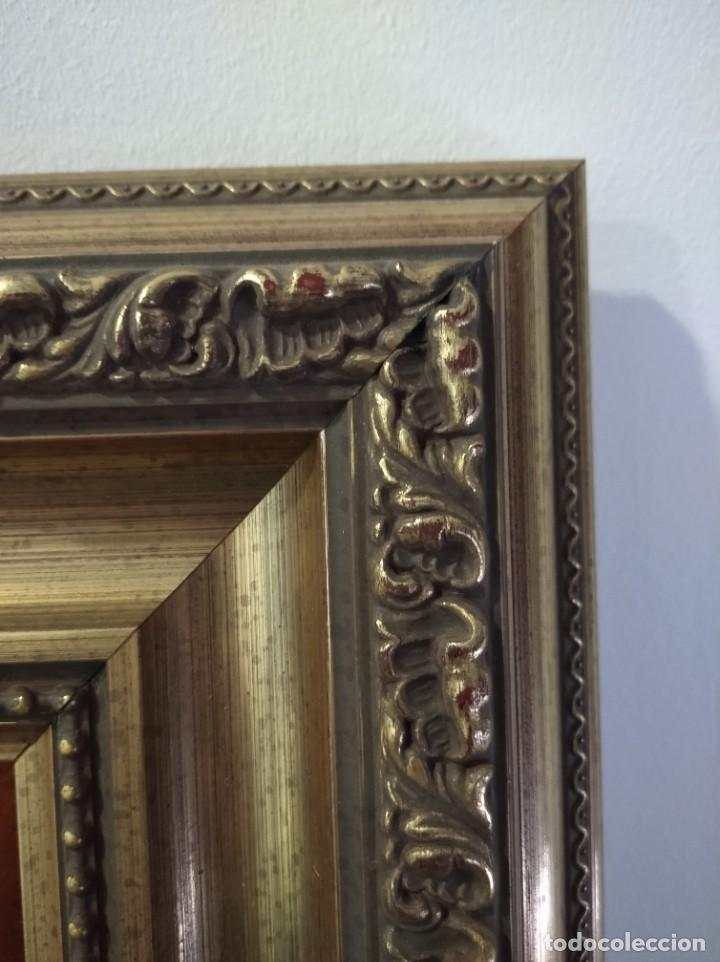 Arte: ROSTRO DE CRISTO 38*40 - ORO DE LEY LIQUIDO - ESMALTE AL FUEGO - SOR PAULA MARTIN - Foto 6 - 189715567