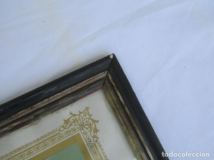 Arte: Litografía enmarcada de San Juan Bautista niño - Foto 9 - 189744865