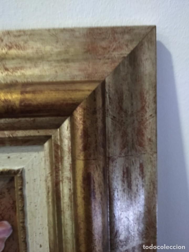 Arte: ADA SOBRE FLOR 43*46 - ORO DE LEY LIQUIDO - ESMALTE AL FUEGO - SOR PAULA MARTIN - Foto 2 - 189794086