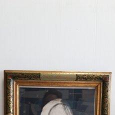 Arte: ANTIGUO CUADRO CON IMAGEN DE LA VIRGEN 38 X32 CM. Lote 190204187