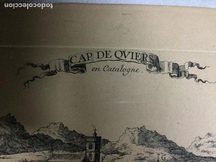 Arte: Cap de Quiers ( Cadaqués ) en Catalogne. Sello de la Calcografia Louvre. Cochin. - Foto 2 - 190377151