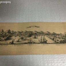 Arte: CAP DE QUIERS ( CADAQUÉS ) EN CATALOGNE. SELLO DE LA CALCOGRAFIA LOUVRE. COCHIN.. Lote 190377151