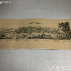 Arte: GIRONE EN CATALOGNE. SELLO DE LA CALCOGRAFIA LOUVRE. N. PERELLE.. Lote 190377662