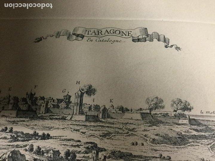 Arte: Tarragone en Catalogne. Sin el sello de la Calcografia Louvre. N. Perelle. - Foto 2 - 190378221